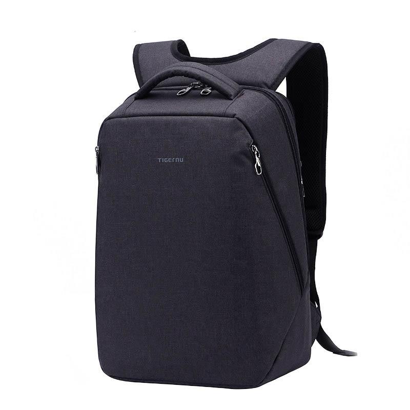 Men New Designer Simple Rucksack Business Casual Backpack Backside Invisible Laptop Interlayer Fashion Waterproof School Bag fashion waterproof simple men backpack