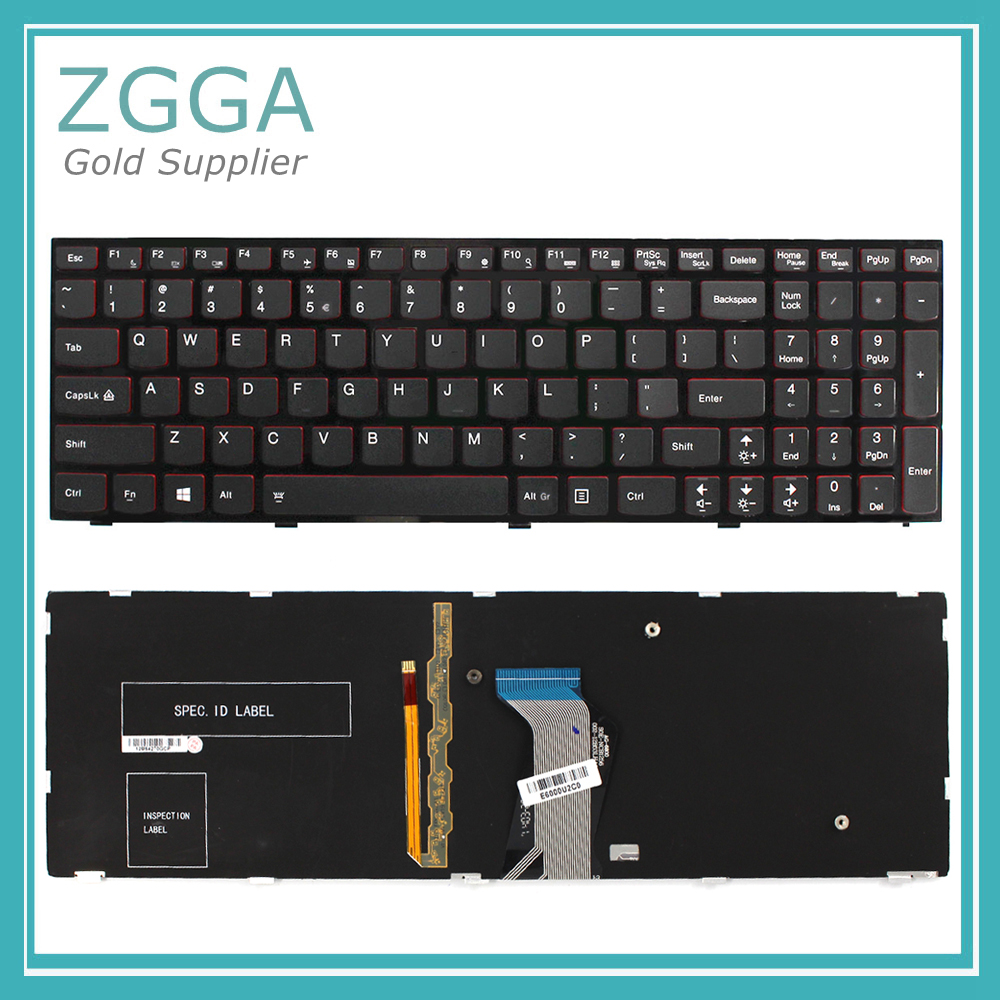 Genuine NEW Laptop US Layout Keyboard for LENOVO Ideapad Y500 Y510P BacklitGenuine NEW Laptop US Layout Keyboard for LENOVO Ideapad Y500 Y510P Backlit