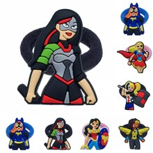 1PCS Hairbands DC Super Hero Girls Hero of the Year Kids Scrunchy Hair Band Elastic Hair Accessories Girl's Hair Rope все цены
