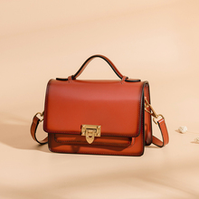 Luxury brand bag premium quality fashion Real leather Shoulder Bags Female Bag Vintage messenger