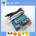 O Envio gratuito de 5 pçs/lote PIC K150 ICSP Programador USB Programação Automática Desenvolver Microcontrolador + USB cabo ICSP 100% novo