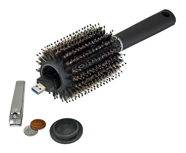 Hair Brush  Safe Diversion Secret Security Hidden Stash