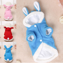 Hooded Coat Clothing for Dogs Fleece Cat Puppy Easter Bunny Pet Dog Costume Clothes Warm Rabbit & Buy bunny dog and get free shipping on AliExpress.com