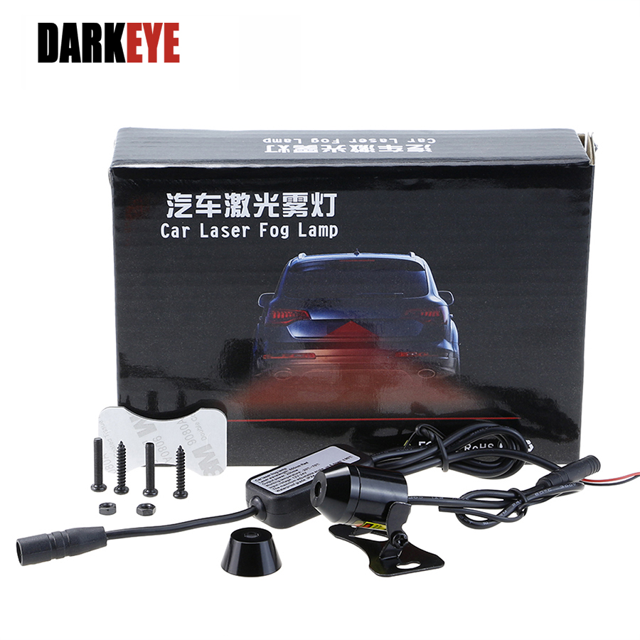 Car Styling Source 1 Pz Car Warning Laser Fanale posteriore - Luci auto
