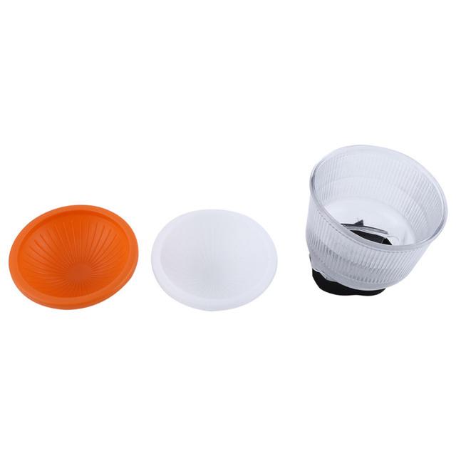 Lambency Flash Diffuser Adjustable White Orange Cloud 2pcs Covers Set For Flash Speedlite