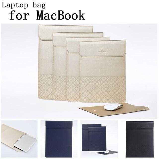 Nueva manga del ordenador portátil bolsas para Apple Macbook air 11.6 12 13.3 15.4 pulgadas manga del ordenador portátil para Mac del bolso de libro, SKU 0138Q