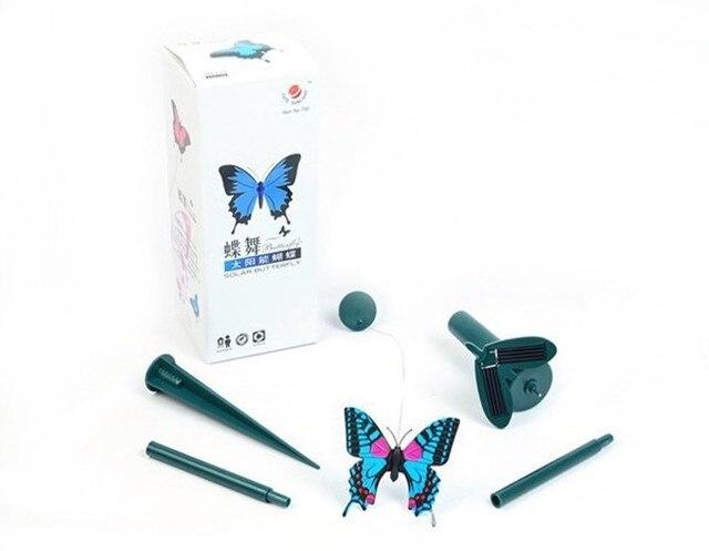 Groothandel Tuin Accessoires : Groothandel solar kolibries vlinders tuin speelgoed educatief