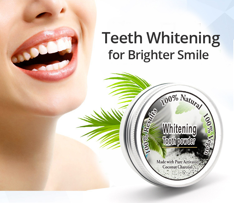 Teeth Whitening Powder Natural Activated Coconut Charcoal Activated Carbon Remove Teeth Stain Oral Odor