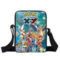 Anime Pokemon Mini Messenger Bag Pikachu Arceus Charizard Mew Crianças Sacos de Escola Dos Miúdos Sacos De Viagem Meninos Meninas Crossbody Bag