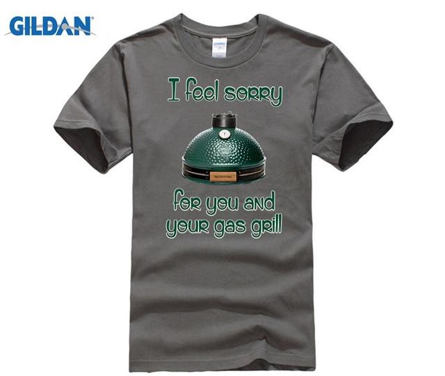 GILDAN Big Green Egg T-Shirt the best of Big Green Egg accessories Hot men's T-shirt 2