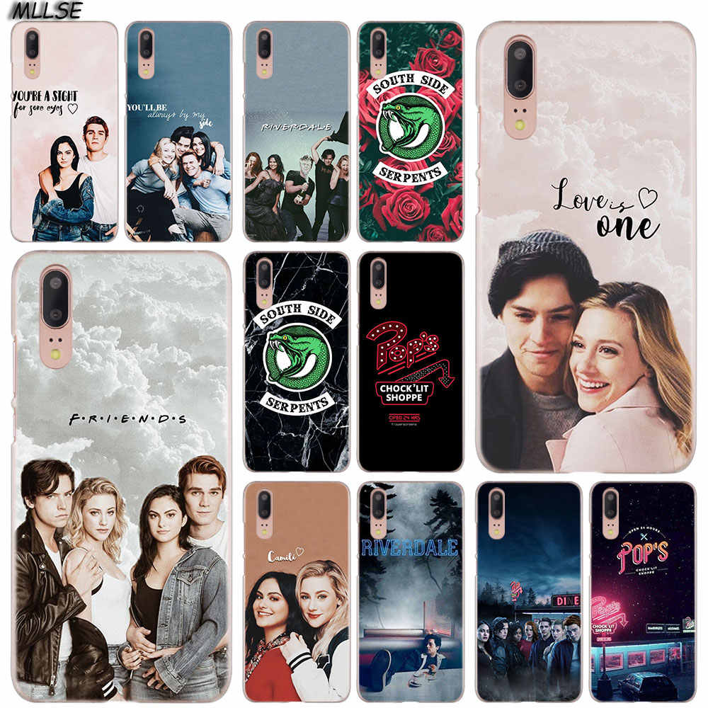 MLLSE Riverdale South Side Serpents Fashion Case Cover for Huawei P30 P20 P10 P9 P8 Lite 2017 P30 P20 Pro Mini PSmart Plus Cover