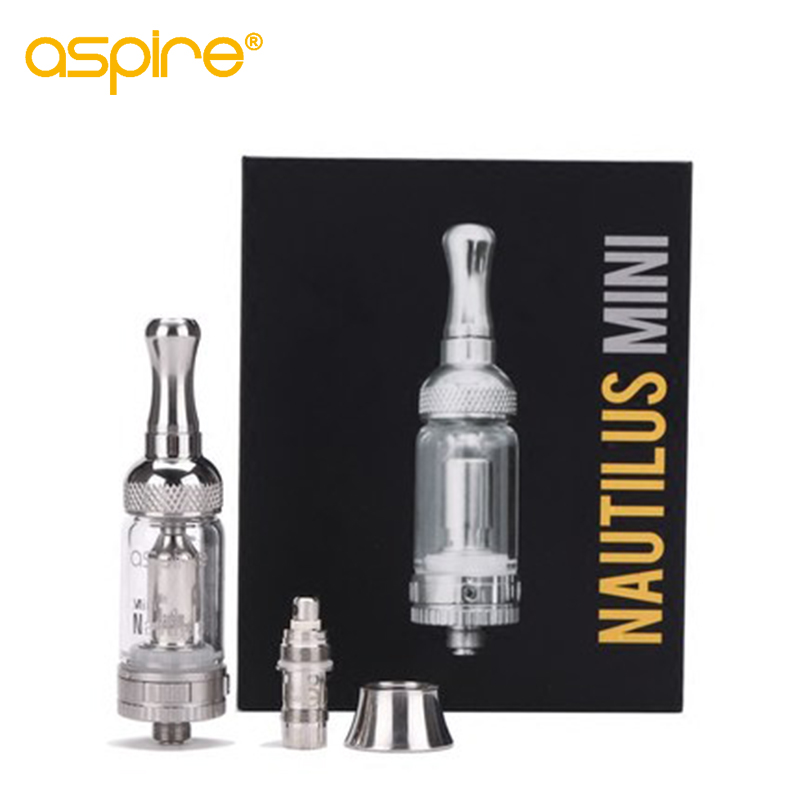 Aspire Nautilus Mini BVC Atomizer 2ML Capacity Nautilus Mini Bottom Vertical Coil Tank Adjustable Airflow Atomizer недорого