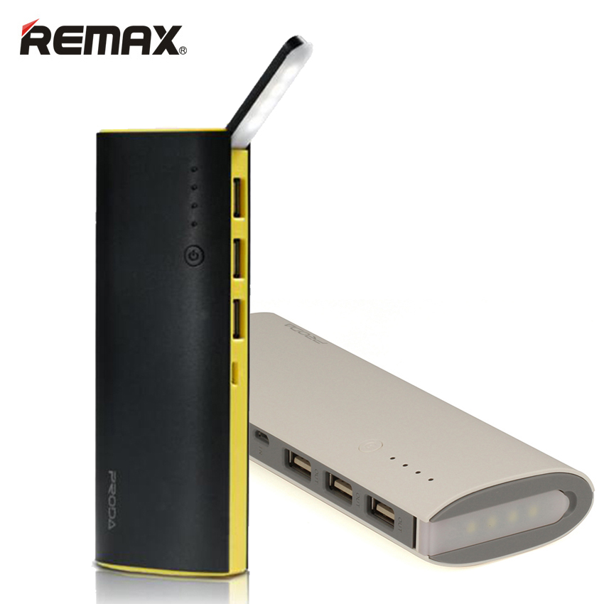 Remax banco de la energía 12000 mah led diseño 3 salida usb portátil teléfono mó