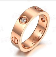2013 New Items Korean Jewelry Mens Rings Stainless Steel Fashion Rings Italina Simple Rings For Women