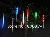 2M 8 X Column String LED Meteor Rain Light(3 X AA supplier)Mul-color