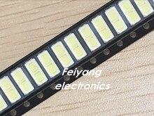 100 шт. для LG innotek LED Подсветка 1 Вт 7030 6 В холодный белый ТВ Применение SMD 7030 холодный белый 100-110lm 7.0*3.0*0.8 мм