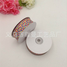 New DIY Ribbon Webbing 2.5CM Digital Printing Sublimation Whorl Belt Clothing Shoes Accessories Decorative