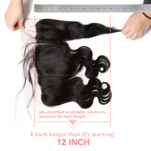 Image 5 - Ali Queen Hair Brazilian Body Wave 13x4 Lace Frontal Ear To Ear Pre Plucked With Baby Hair Remy Human Hair Free Part
