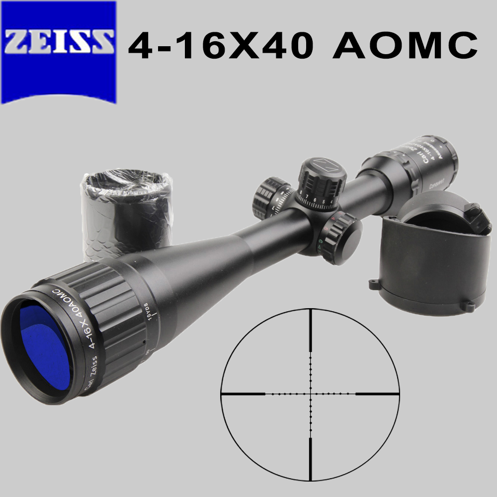 Brand ZEISS 4-16X40 AOMC Optical Sight Riflescope military use Outdoor Hunting Scope Air Rifle Sniper rifle gun Accessories luger outdoor optical sight 4 16x44aoe riflescope hunting optics scope for gun airsoft rifle sniper accessories