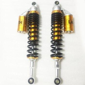 Universal 8mm spring 390mm motorcycle Air Shock Absorbers Suspension for Honda Yamaha Suzuki Kawasaki KTM Dirt bikes Gokart ATV