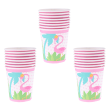 Party Cups Flamingo 24pcs