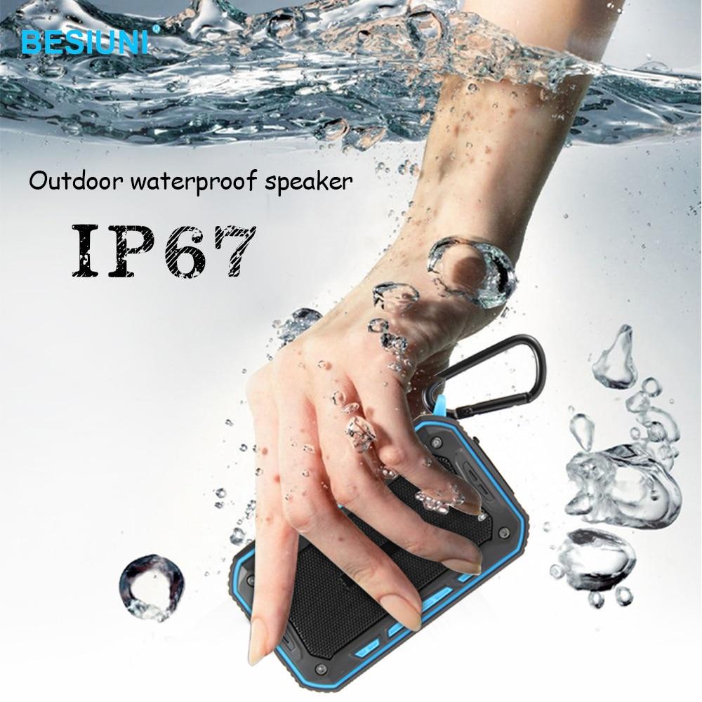 Outdoor-lautsprecher Unterhaltungselektronik Analytisch Outdoor Lautsprecher Wasserdicht Ip67 Klasse Tragbare Bluetooth Lautsprecher 6 Watt Akustik Hände-freies Anruf Verkaufspreis