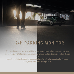 "Image 3 - 4.0"" Car Dash Cam Full HD 1080P 170 Degree Video Recorder Dual Lens Vehicle Camera Car DVR with Rear View G sensor Night Vision"
