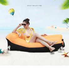 Snelle opblaasbare Lucht Sofa Bed Outdoor Tuinmeubelen Camping Waterdichte Lui Slaapzakken Opvouwbare Portable Air Sofa