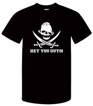 Hey You Guys T-Shirt - Funny T Shirt Retro Pirate Sloth Parody Joke Skull Goonie Men Cotton Printed  Top Tee
