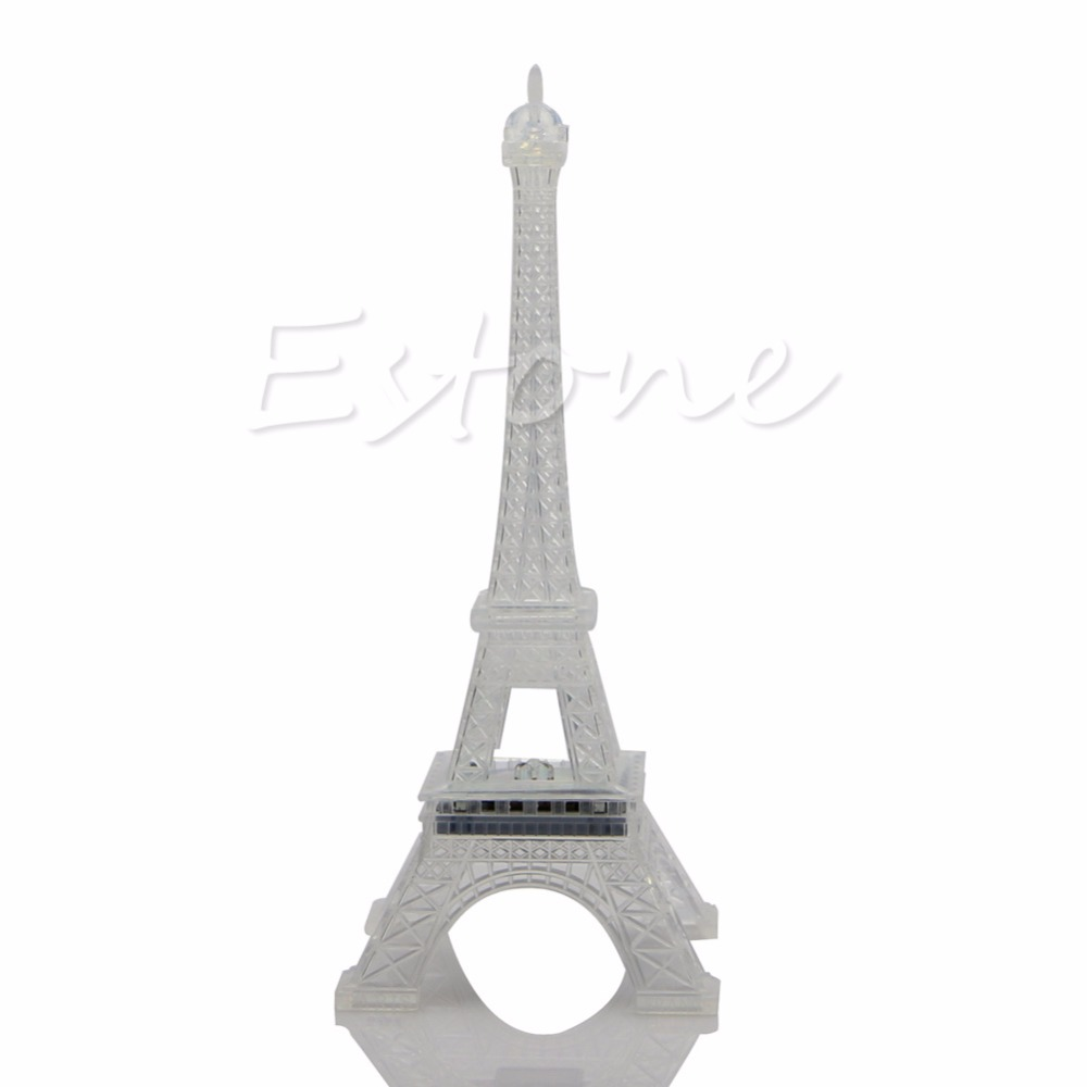 Romantic Eiffel Tower LED Night Light Desk Table Lamp Wedding Bedroom  Decorate - L057 New hot