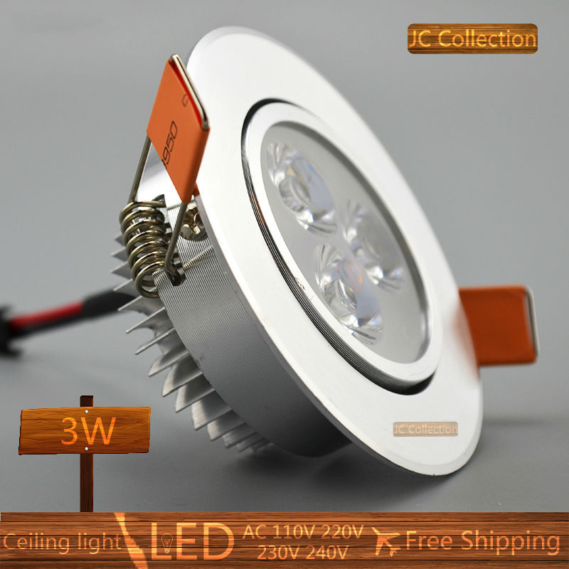 3w 5w 7w led down light led bulb spot light free shipping led