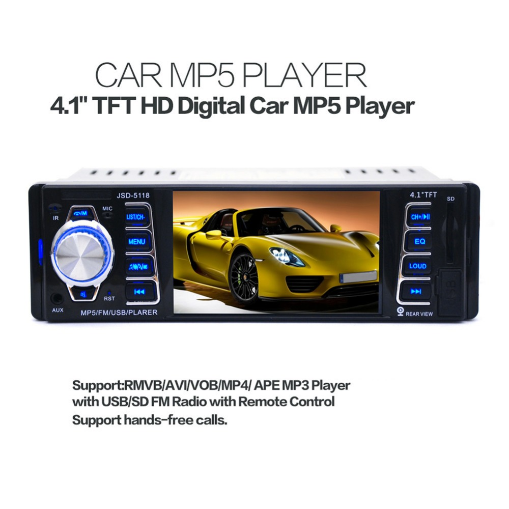 MP5 USB/SD/AUX 4,1 USB 1