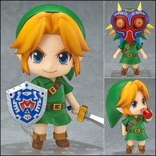The Legend of Zelda Link Nendoroid Majora's Mask Game Legend of Zelda PVC Figure 10CM Q Ver. Zelda Link Nendoroid Toy Doll все цены