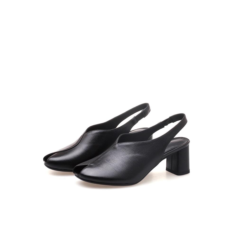 Genuino Zapato Toe Mujer Venta Calidad Zapatos Cuero Superior Sandalias De verde Tacones Wedding Verano Peep Caliente Altos Negro Vaca Asumer Señoras 08wqdUd