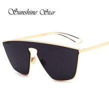 Pop edad new diseñador de la marca sin montura gafas de sol de las mujeres de los hombres de metal de alta calidad gafas de sol de lujo gafas de las gafas de sol