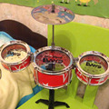 2017 New Hot Sell Children Puzzle Rack Drum Jazz Drum Sets Kids Musical Percussion Children's gifts LB