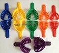 12 pcs Materiais Dental Impression Bandejas de Plástico de Cor para Adultos e Crianças Como Mostrado Na Imagem