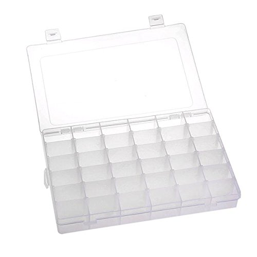 Organizador 36 Compartimento Plstico Bisutera Ajustable - Home Storage und Organisation - Foto 1