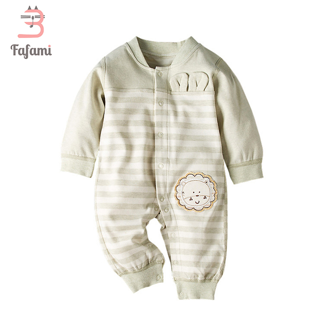 307a54840 Rompers Newborn baby clothes Organic cotton Baby Winter clothing Baby girl  Romper boy Autumn jumpsuits Infant bebes costume