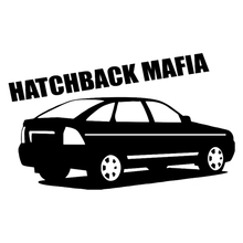 CS-202#12*20cm hatchback mafia priora funny car sticker and decal silver/black vinyl auto stickers