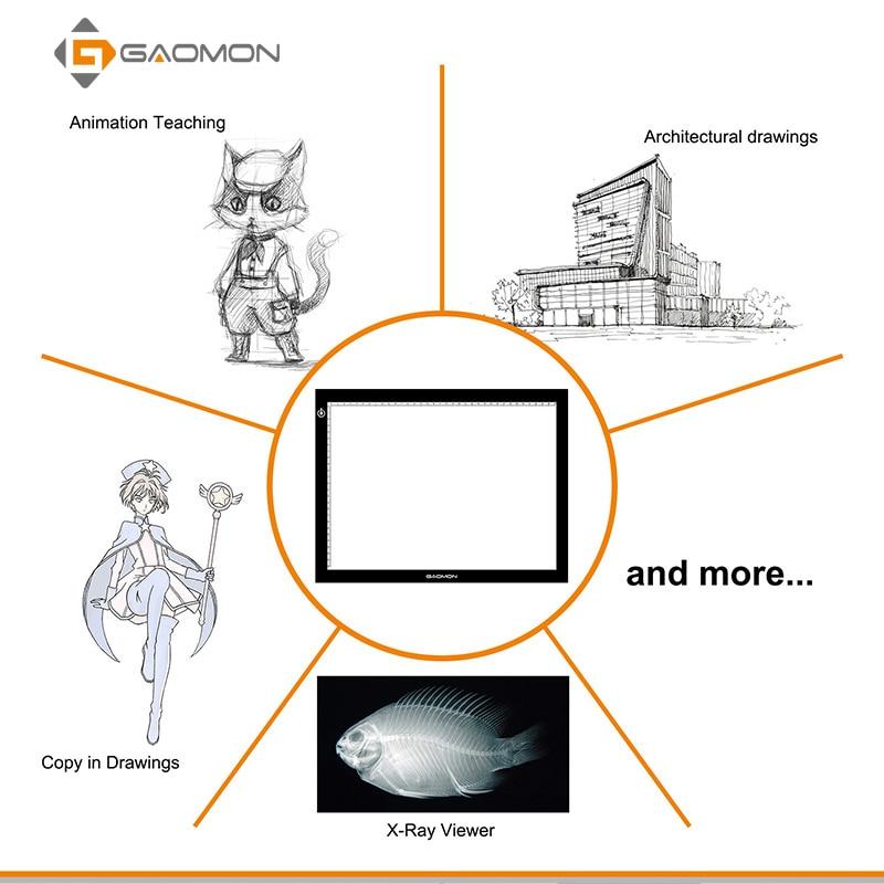 GAOMON GB4 5MM հաստության LED հետագծային - Համակարգչային արտաքին սարքեր - Լուսանկար 4
