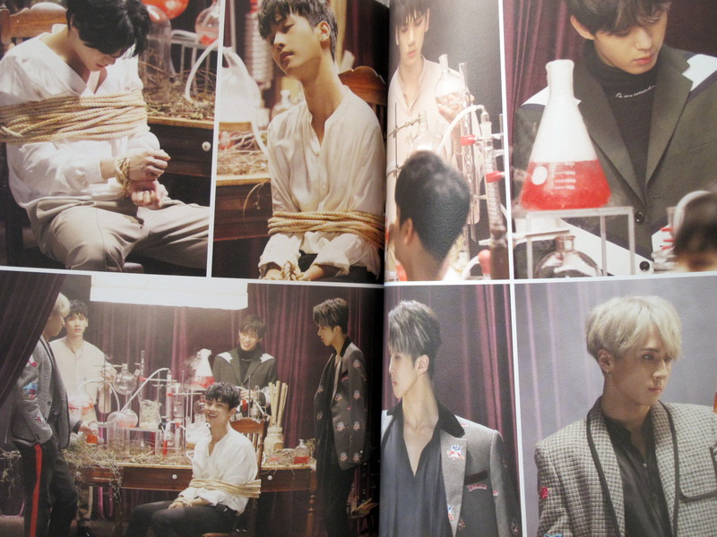 vixx autographed signed 2016 conception ker album cddvdphotobook new korean limited version presale shipping early december in photo albums from home
