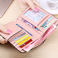 Genuine Leather Wallet Brand Women Wallets and Purses ,Clip Wallet Cow Leather Ladies Mini Small Wallets Female Slim Coin Purse