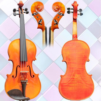 Solid Wood Performance Test Grade for Pure Handmade Violin 3/4 Adults and Children