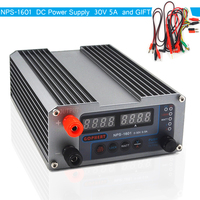 NPS 1601 Version Mini Adjustable Digital Switch DC Power Supply WATT With Lock Function 0.001A 0.01V 32V 30V 5A 3205II Upgraded