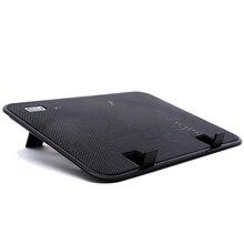 14 дюймов Тетрадь кулер 5v зарядное устройство, внешний USB охлаждающая подставка под ноутбук тонкий стенд высокое Скорость бесшумный вентилятор металлический Панель