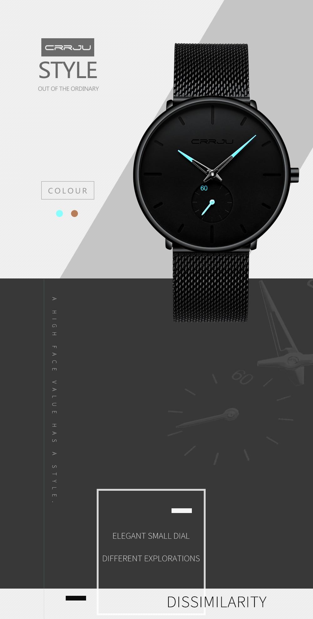 homens relógios top marca de ocasião ultrafino