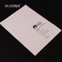 80g Perfect Quality 210 297mm A4 Printer Stationery Paper 75 Cotton 25 Linen With Color Fiber