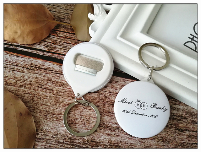 Free Shipping 50pcs Keychain Wedding Gifts And Personalized Wedding