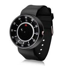 Новые Креативные 1 шт модные мужские роскошные часы из нержавеющей стали аналоговые Кварцевые Спортивные Наручные Часы relogio masculino
